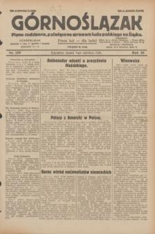 Górnoślązak : pismo codzienne, poświęcone sprawom ludu polskiego na Śląsku.R.28, nr 129 (7 czerwca 1929) + dod.