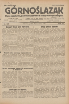 Górnoślązak : pismo codzienne, poświęcone sprawom ludu polskiego na Śląsku.R.28, nr 135 (14 czerwca 1929) + dod.