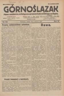 Górnoślązak : pismo codzienne, poświęcone sprawom ludu polskiego na Śląsku.R.28, nr 136 (15 czerwca 1929) + dod.