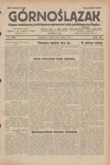 Górnoślązak : pismo codzienne, poświęcone sprawom ludu polskiego na Śląsku.R.28, nr 168 (24 lipca 1929) + dod.