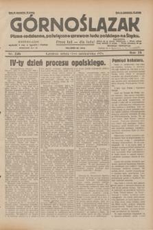 Górnoślązak : pismo codzienne, poświęcone sprawom ludu polskiego na Śląsku.R.28, nr 236 (12 października 1929) + dod.