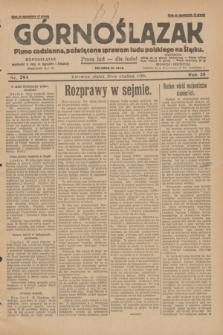 Górnoślązak : pismo codzienne, poświęcone sprawom ludu polskiego na Śląsku.R.28, nr 294 (20 grudnia 1929) + dod.