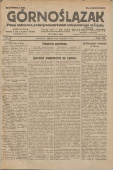 Górnoślązak : pismo codzienne, poświęcone sprawom ludu polskiego na Śląsku.R.29, nr 2 (3 stycznia 1930) + dod.