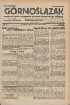 Górnoślązak : pismo codzienne, poświęcone sprawom ludu polskiego na Śląsku.R.29, nr 9 (12 stycznia 1930) + dod.