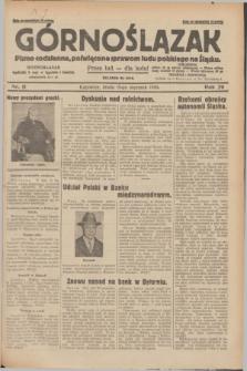 Górnoślązak : pismo codzienne, poświęcone sprawom ludu polskiego na Śląsku.R.29, nr 11 (15 stycznia 1930) + dod.