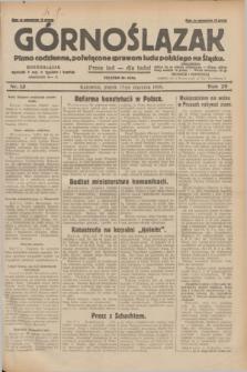 Górnoślązak : pismo codzienne, poświęcone sprawom ludu polskiego na Śląsku.R.29, nr 13 (17 stycznia 1930) + dod.