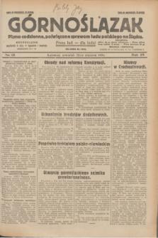 Górnoślązak : pismo codzienne, poświęcone sprawom ludu polskiego na Śląsku.R.29, nr 18 (23 stycznia 1930) + dod.