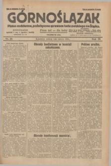 Górnoślązak : pismo codzienne, poświęcone sprawom ludu polskiego na Śląsku.R.29, nr 26 (1 lutego 1930) + dod.