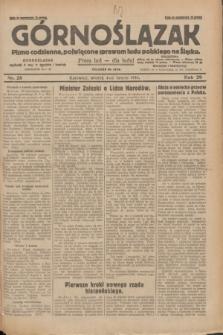 Górnoślązak : pismo codzienne, poświęcone sprawom ludu polskiego na Śląsku.R.29, nr 28 (4 lutego 1930) + dod.