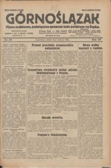 Górnoślązak : pismo codzienne, poświęcone sprawom ludu polskiego na Śląsku.R.29, nr 29 (5 lutego 1930) + dod.