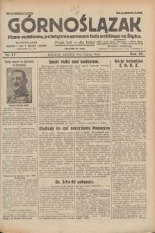 Górnoślązak : pismo codzienne, poświęcone sprawom ludu polskiego na Śląsku.R.29, nr 57 (9 marca 1930) + dod.