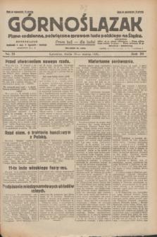 Górnoślązak : pismo codzienne, poświęcone sprawom ludu polskiego na Śląsku.R.29, nr 71 (26 marca 1930) + dod.
