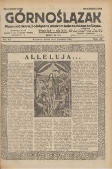 Górnoślązak : pismo codzienne, poświęcone sprawom ludu polskiego na Śląsku.R.29, nr 92 (19 kwietnia 1930) + dod.