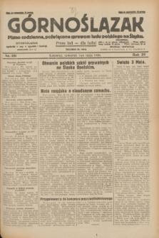 Górnoślązak : pismo codzienne, poświęcone sprawom ludu polskiego na Śląsku.R.29, nr 101 (1 maja 1930) + dod.
