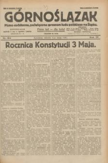Górnoślązak : pismo codzienne, poświęcone sprawom ludu polskiego na Śląsku.R.29, nr 104 (6 maja 1930) + dod.