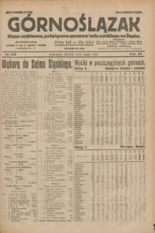 Górnoślązak : pismo codzienne, poświęcone sprawom ludu polskiego na Śląsku.R.29, nr 110 (13 maja 1930) + dod.