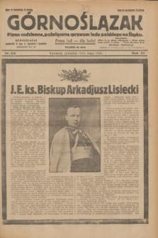 Górnoślązak : pismo codzienne, poświęcone sprawom ludu polskiego na Śląsku.R.29, nr 112 (15 maja 1930) + dod.