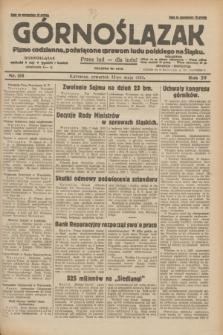 Górnoślązak : pismo codzienne, poświęcone sprawom ludu polskiego na Śląsku.R.29, nr 118 (22 maja 1930) + dod.
