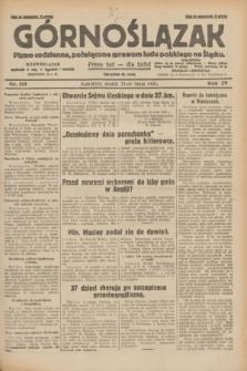 Górnoślązak : pismo codzienne, poświęcone sprawom ludu polskiego na Śląsku.R.29, nr 119 (23 maja 1930) + dod.