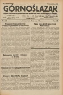 Górnoślązak : pismo codzienne, poświęcone sprawom ludu polskiego na Śląsku.R.29, nr 122 (27 maja 1930) + dod.