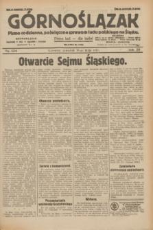 Górnoślązak : pismo codzienne, poświęcone sprawom ludu polskiego na Śląsku.R.29, nr 124 (29 maja 1930) + dod.