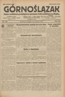 Górnoślązak : pismo codzienne, poświęcone sprawom ludu polskiego na Śląsku.R.29, nr 126 (1 czerwca 1930) + dod.