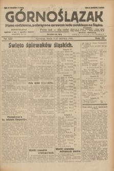 Górnoślązak : pismo codzienne, poświęcone sprawom ludu polskiego na Śląsku.R.29, nr 133 (11 czerwca 1930)