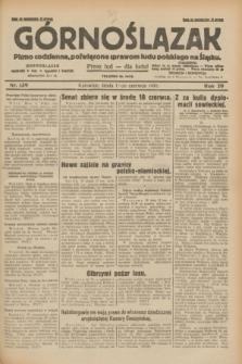Górnoślązak : pismo codzienne, poświęcone sprawom ludu polskiego na Śląsku.R.29, nr 139 (18 czerwca 1930) + dod.