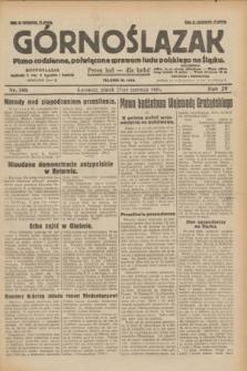 Górnoślązak : pismo codzienne, poświęcone sprawom ludu polskiego na Śląsku.R.29, nr 146 (27 czerwca 1930) + dod.