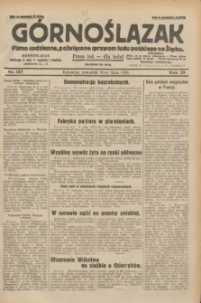 Górnoślązak : pismo codzienne, poświęcone sprawom ludu polskiego na Śląsku.R.29, nr 157 (10 lipca 1930) + dod.