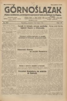 Górnoślązak : pismo codzienne, poświęcone sprawom ludu polskiego na Śląsku.R.29, nr 163 (17 lipca 1930) + dod.