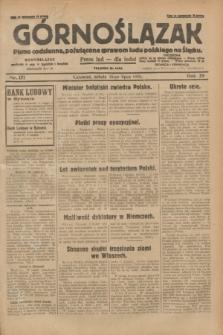 Górnoślązak : pismo codzienne, poświęcone sprawom ludu polskiego na Śląsku.R.29, nr 171 (26 lipca 1930) + dod.