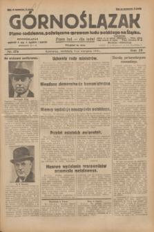 Górnoślązak : pismo codzienne, poświęcone sprawom ludu polskiego na Śląsku.R.29, nr 178 (3 sierpnia 1930) + dod.