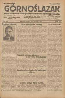 Górnoślązak : pismo codzienne, poświęcone sprawom ludu polskiego na Śląsku.R.29, nr 179 (5 sierpnia 1930) + dod.