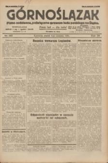 Górnoślązak : pismo codzienne, poświęcone sprawom ludu polskiego na Śląsku.R.29, nr 182 (8 sierpnia 1930) + dod.