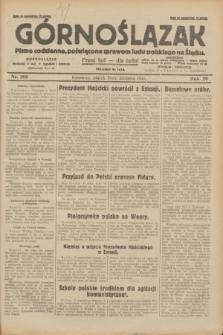 Górnoślązak : pismo codzienne, poświęcone sprawom ludu polskiego na Śląsku.R.29, nr 188 (15 sierpnia 1930) + dod.
