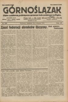 Górnoślązak : pismo codzienne, poświęcone sprawom ludu polskiego na Śląsku.R.29, nr 189 (17 sierpnia 1930) + dod.