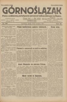 Górnoślązak : pismo codzienne, poświęcone sprawom ludu polskiego na Śląsku.R.29, nr 199 (29 sierpnia 1930) + dod.