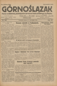 Górnoślązak : pismo codzienne, poświęcone sprawom ludu polskiego na Śląsku.R.29, nr 203 (3 września 1930) + dod.
