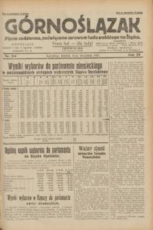Górnoślązak : pismo codzienne, poświęcone sprawom ludu polskiego na Śląsku.R.29, nr 214 (16 września 1930) + dod.