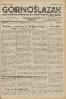 Górnoślązak : pismo codzienne, poświęcone sprawom ludu polskiego na Śląsku.R.29, nr 217 (19 września 1930)