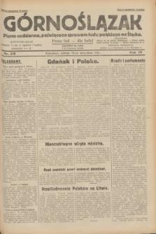 Górnoślązak : pismo codzienne, poświęcone sprawom ludu polskiego na Śląsku.R.29, nr 218 (20 września 1930) + dod.