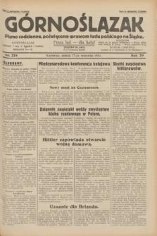 Górnoślązak : pismo codzienne, poświęcone sprawom ludu polskiego na Śląsku.R.29, nr 224 (27 września 1930) + dod.
