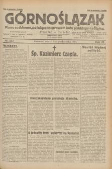 Górnoślązak : pismo codzienne, poświęcone sprawom ludu polskiego na Śląsku.R.29, nr 232 (7 października 1930)