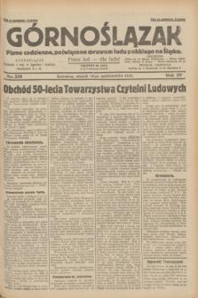 Górnoślązak : pismo codzienne, poświęcone sprawom ludu polskiego na Śląsku.R.29, nr 238 (14 października 1930) + dod.