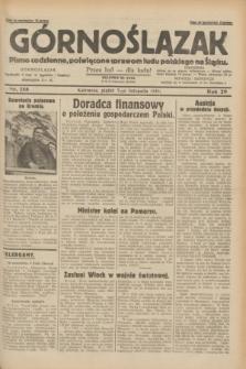 Górnoślązak : pismo codzienne, poświęcone sprawom ludu polskiego na Śląsku.R.29, nr 258 (7 listopada 1930)