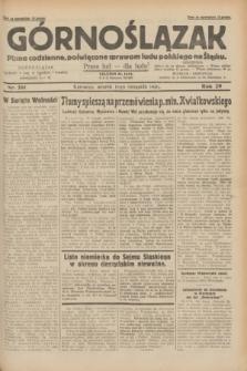 Górnoślązak : pismo codzienne, poświęcone sprawom ludu polskiego na Śląsku.R.29, nr 261 (11 listopada 1930)