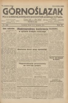 Górnoślązak : pismo codzienne, poświęcone sprawom ludu polskiego na Śląsku.R.29, nr 262 (12 listopada 1930) + dod.
