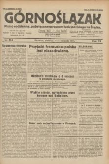 Górnoślązak : pismo codzienne, poświęcone sprawom ludu polskiego na Śląsku.R.29, nr 266 (16 listopada 1930)