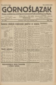 Górnoślązak : pismo codzienne, poświęcone sprawom ludu polskiego na Śląsku.R.29, nr 268 (19 listopada 1930)